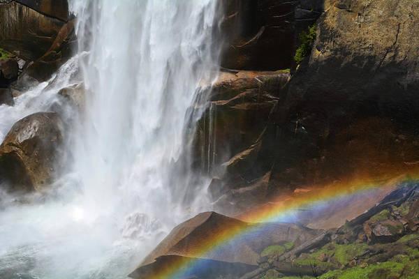 Photograph - Vernal Fall Rainbow by Kyle Hanson
