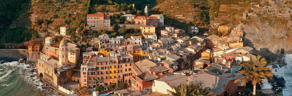 Photograph - Vernazza Panorama In Cinque Terre by Songquan Deng