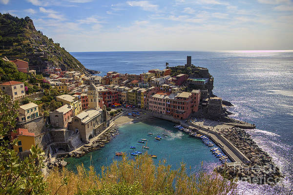 Photograph - Vernazza by Spencer Baugh