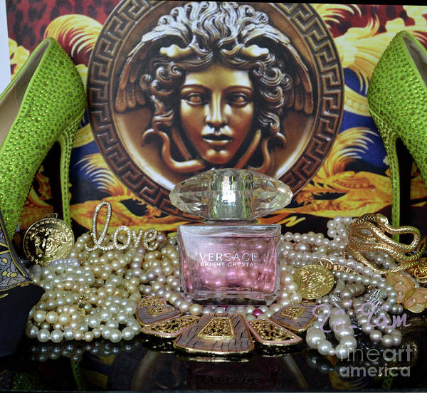 Wall Art - Photograph - Versace Bright Crystal by To-Tam Gerwe