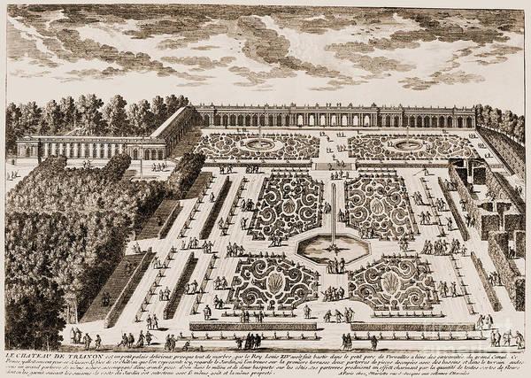 Photograph - Versailles: Garden, 1685 by Granger