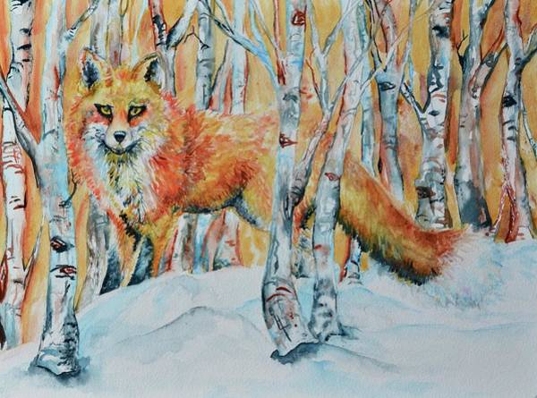Painting - Watching You by Beverley Harper Tinsley