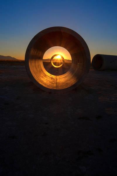 Photograph - Vertical Sun by David Andersen