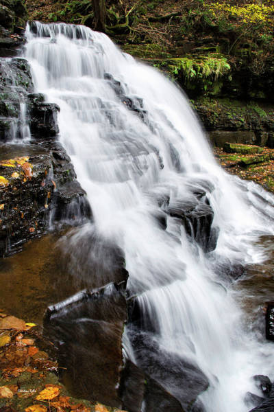 Photograph - Mountain Waterfall by Christina Rollo