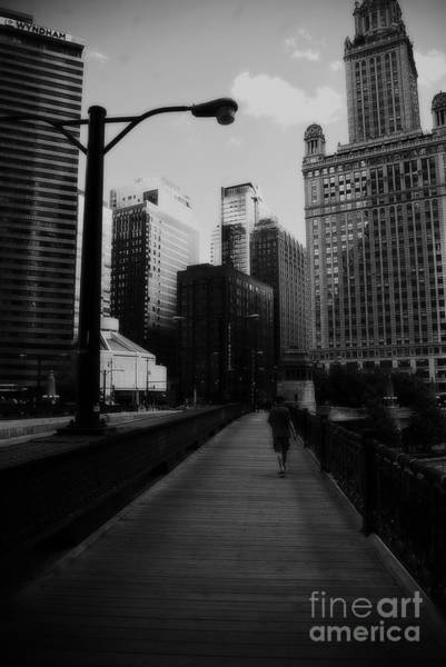 Photograph - Vertigo Chicago by Frank J Casella
