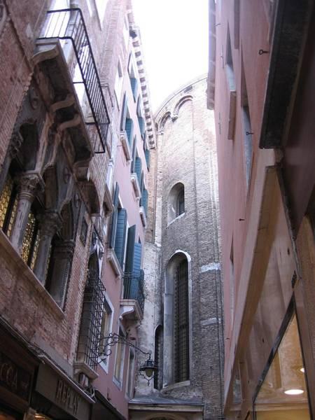 Vertigo In Venice Art Print