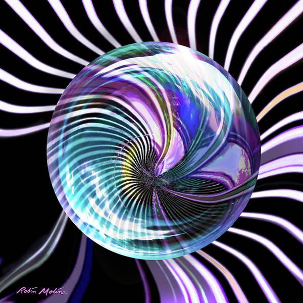 Digital Art - Vertigo by Robin Moline
