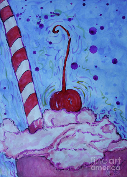 Painting - Very Cherry Soda by Jacqueline Athmann
