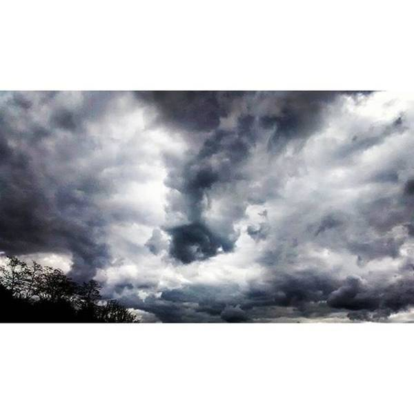 Wall Art - Photograph - Very Dramatic And Beautiful Clouds This by Genevieve Esson