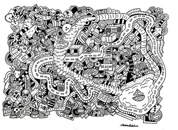 Wall Art - Drawing - Very Good Sir by Chelsea Geldean