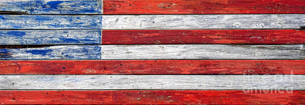 Modified Photograph - Very Old Glory by Olivier Le Queinec
