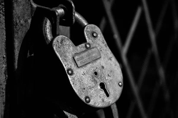 Photograph - Very Secure by Doug Camara