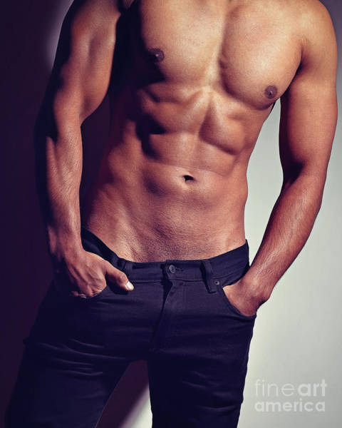 Photograph - Very Sexy Man With Great Body by William Langeveld