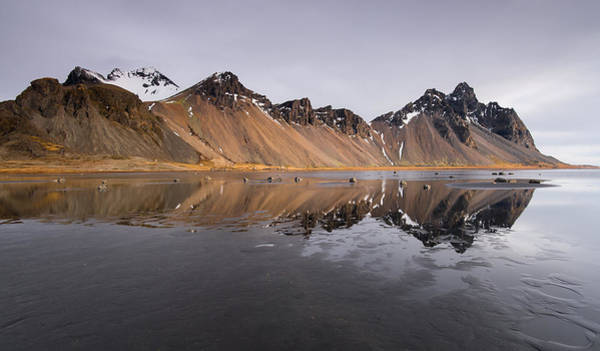 Icelandic Landscapes Wall Art - Photograph - Vestrahorn Mountain In Stokksnes Iceland by Michalakis Ppalis