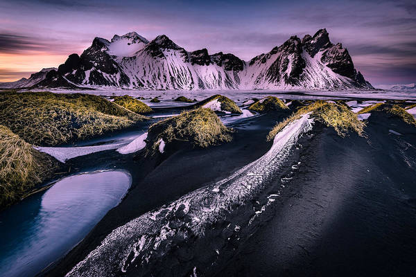 Photograph - Vestrahorn, South Iceland by Peter OReilly