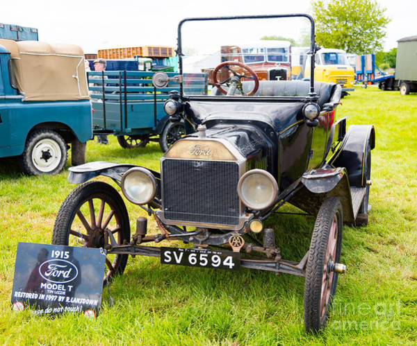 Photograph - Veteran Model T Ford  by Colin Rayner