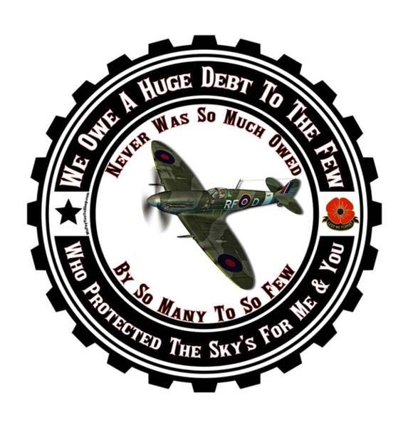 Blitz Digital Art - Veterans Day Uk by Firsttees Motivational Artwork