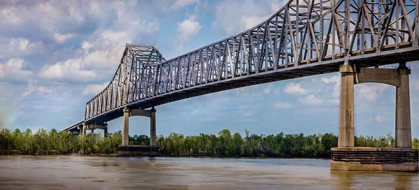 Photograph - Veterans Memorial Bridge by James Woody