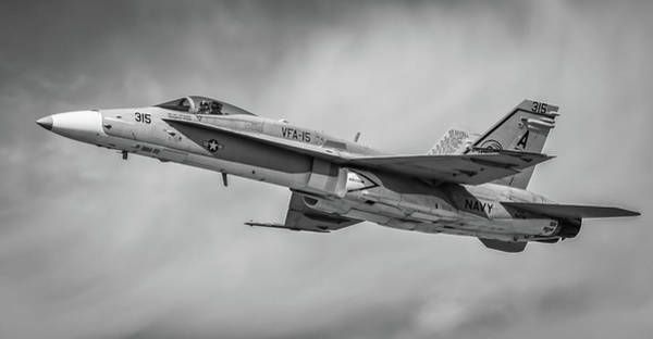 Photograph - Vfa 15 Hornet by David Hart