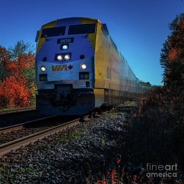 Photograph - Via Canada 150 by Roger Monahan