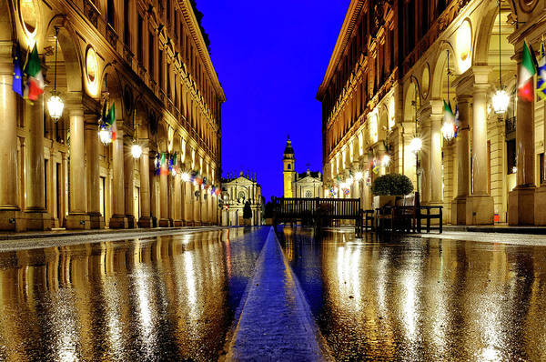 Photograph - Via Roma by Fabrizio Troiani