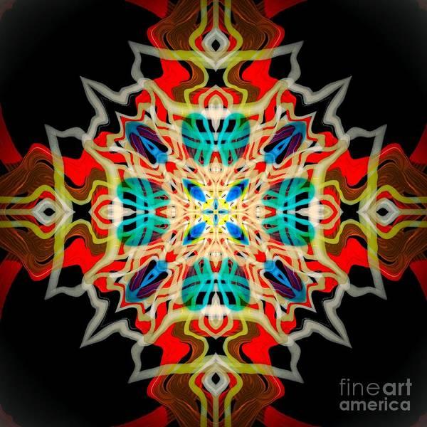Digital Art - Vibrant Ornament Design Art by Sheila Wenzel