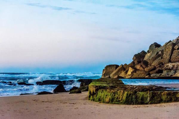 Azenhas Photograph - Vibrant Seascape At Twilight by Marion McCristall