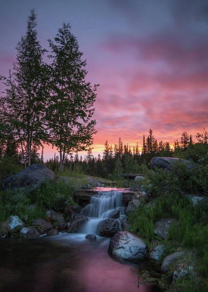 Photograph - Vibrant Sky // Whitefish, Montana  by Nicholas Parker