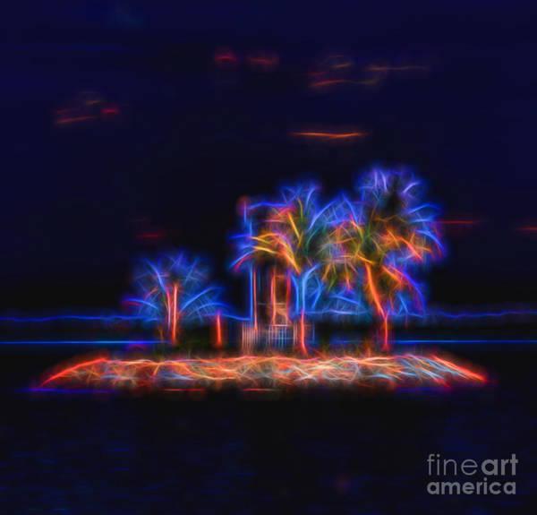 Digital Art - Vibrant Solitude by Ray Shiu