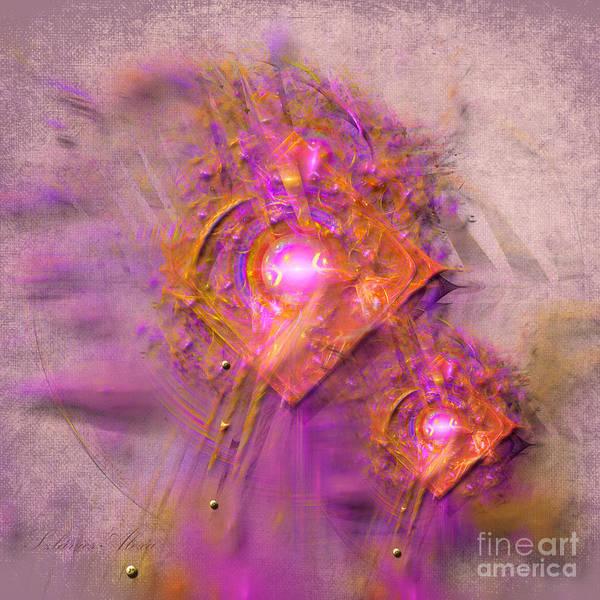 Digital Art - Vibration by Alexa Szlavics