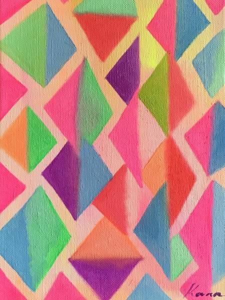 Architecture Painting -  Vibration  by Kanako Kumamaru