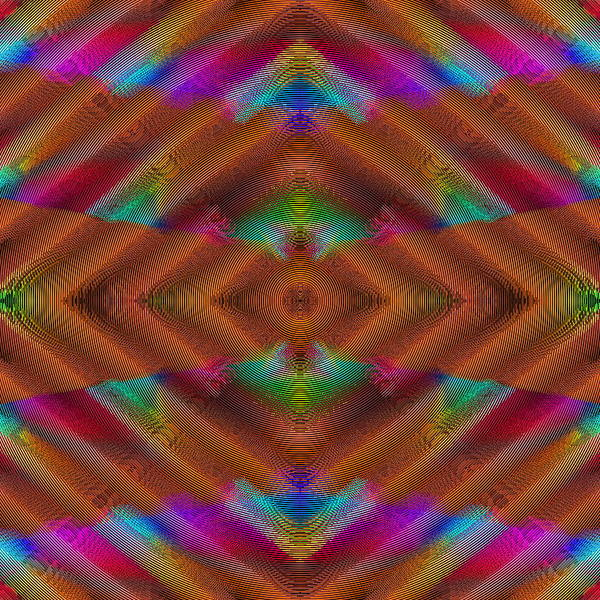 Digital Art - Vibrations by Visual Artist Frank Bonilla