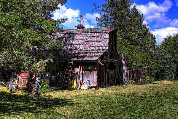 Photograph - Vic Moore's Barn by David Patterson