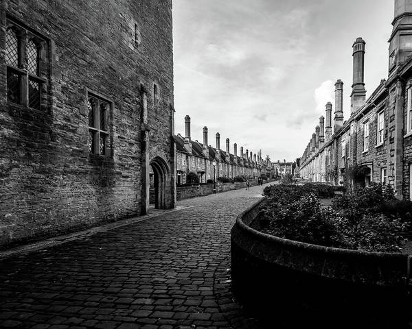 Photograph - Vicars Close Wells C by Jacek Wojnarowski