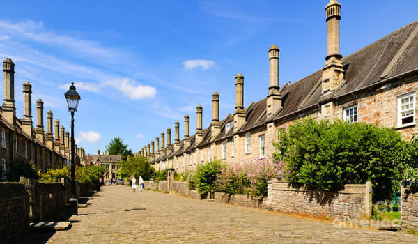 Photograph - Vicar's Close, Wells by Colin Rayner