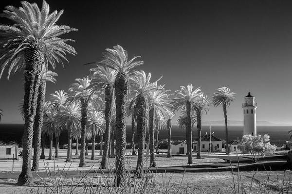 Wall Art - Photograph - Vicente Lighthouse In Infra Red.  by Sean Davey