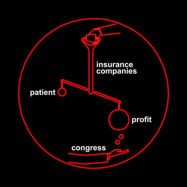 Insurance Digital Art - Vicious Circle by Grzegorz Matuszewski