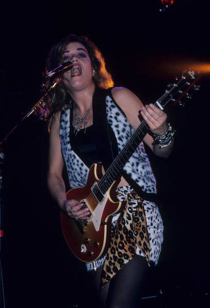 Photograph - Vicki Peterson Of The Bangles by Rich Fuscia
