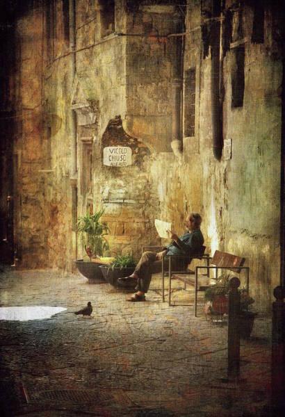 Photograph - Vicolo Chiuso   Closed Alley by Vittorio Chiampan