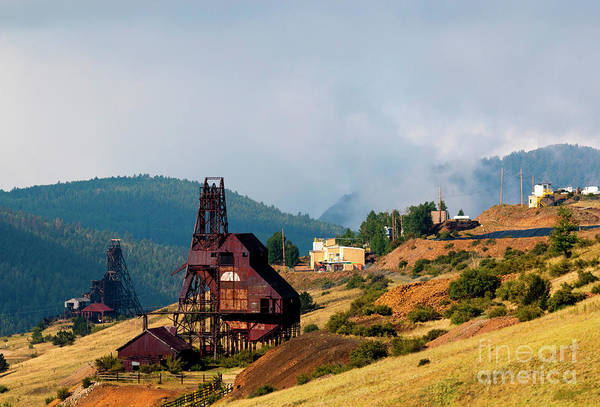 Photograph - Victor Mining District by Steve Krull