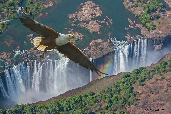 Photograph - Victoria Falls by Larry Linton