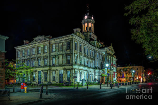 Photograph - Victoria Hall, Cobourg by Roger Monahan