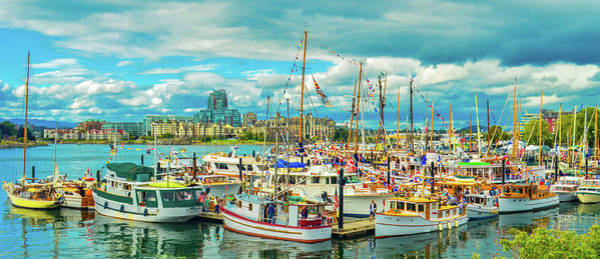 Photograph - Victoria Harbor 2 by Jason Brooks