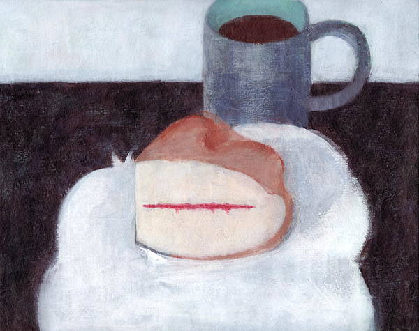 Sponge Painting - Victoria Sandwich  by Kazumi Whitemoon