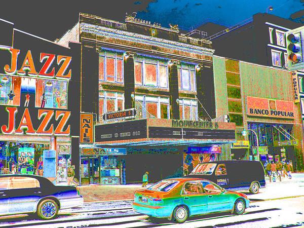 Victoria Theater 125th St Nyc Art Print