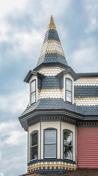 Photograph - Victorian Architecture In Cape May New Jersey by Gary Slawsky