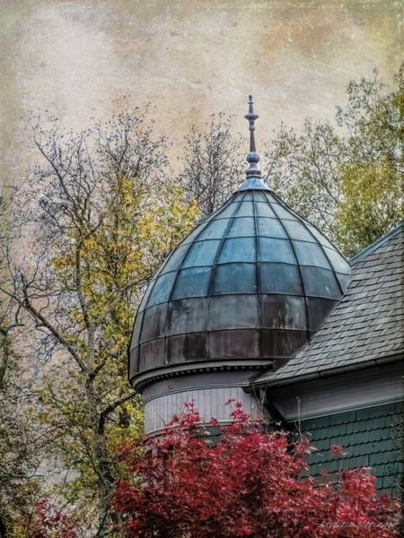 Queen Anne Style Photograph - Victorian Autumn by Melissa Bittinger