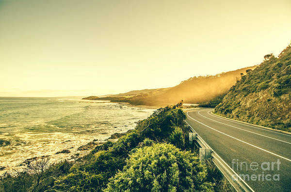 Winding Roads Photograph - Victorian Coastline by Jorgo Photography - Wall Art Gallery