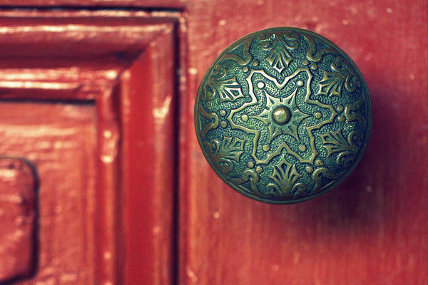 Timeworn Photograph - Victorian Door Handle by Joseph Skompski