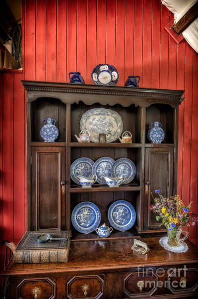 Ceramics Wall Art - Photograph - Victorian Dresser  by Adrian Evans
